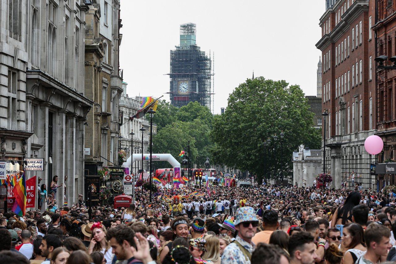 住在英國的的非稅務居民人數已降至歷史新低。歐新社