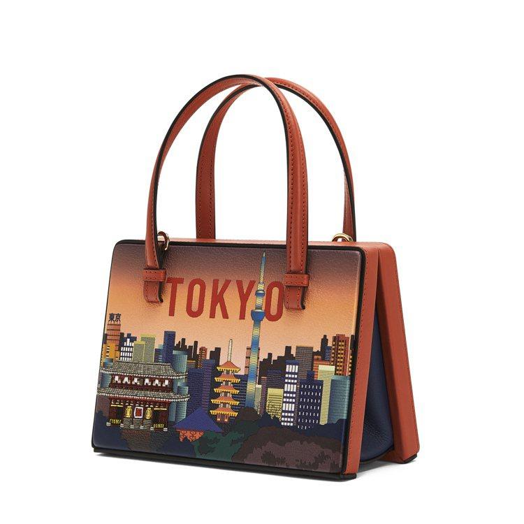 Postal棕色東京肩背提包,價格店洽。圖/LOEWE提供