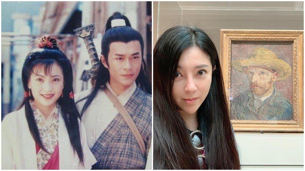 傅明憲(左)、古天樂(右)演的「神鵰俠侶」,擁有不少忠實粉絲。圖/摘自微博