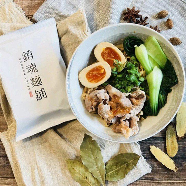 ihergo愛合購快煮麵熱銷第三名:大師兄銷魂麵。圖/愛合購提供