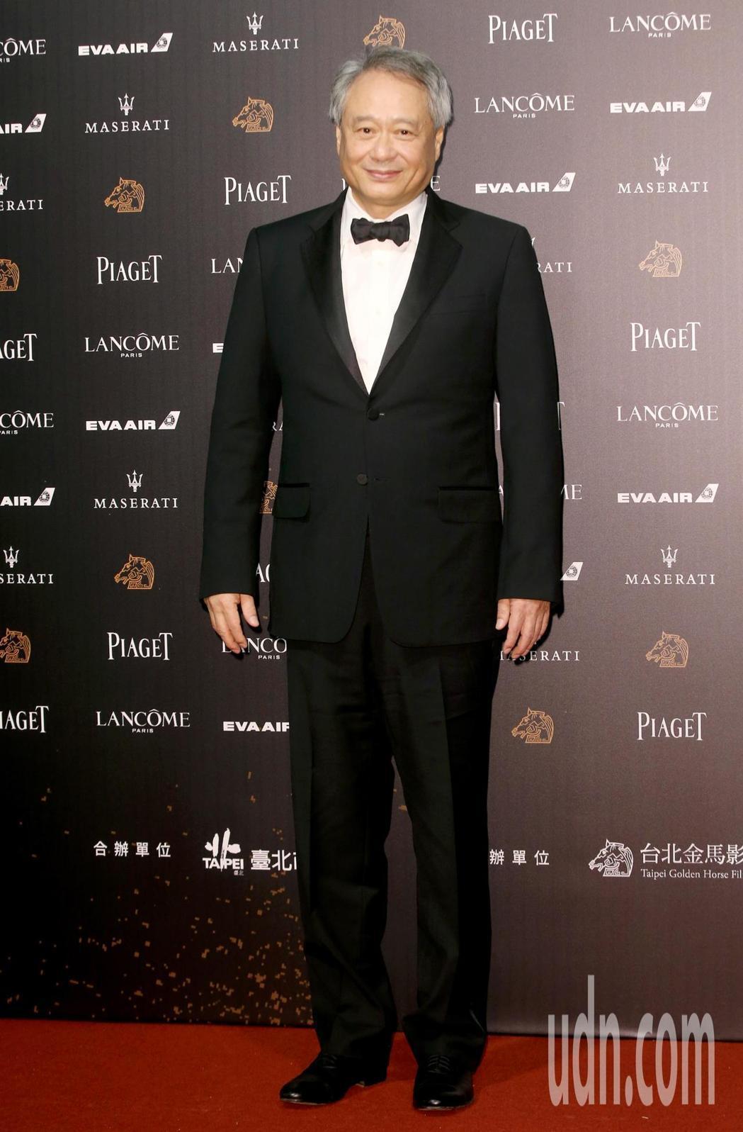 李安擔任金馬執委會主席,今年也將會再度出席金馬獎頒獎典禮。記者鄭清元/攝影
