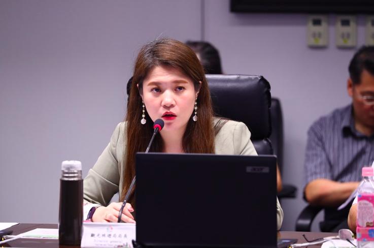 台中市觀旅局長林筱淇制訂「公務倫理實施計畫」,藍、綠議員呼籲她多重視業務。圖/取...