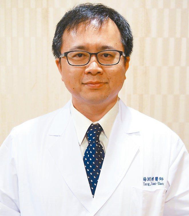 高雄市立大同醫院神經科主任楊淵韓。記者蔡容喬/攝影