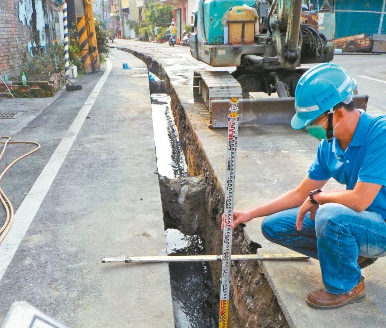 屏東縣有不少鄉鎮展開自來水接管工程。 圖/屏東縣政府提供