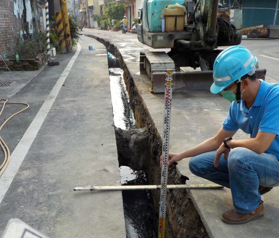 屏東縣有不少鄉鎮已展開自來水裝設工程。圖/屏東縣政府提供