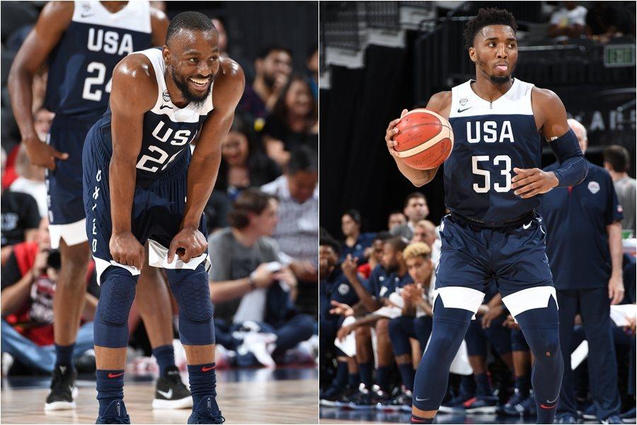 華克(左)對米契爾(右)讚譽有加,認為米契爾猶如另一個自己。 截圖自NBA官方推...