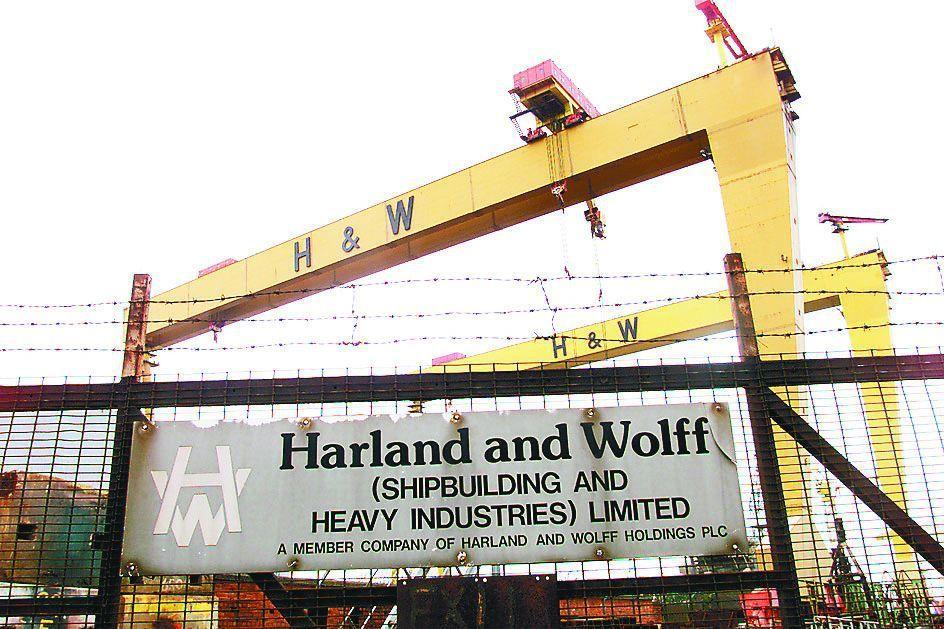 鐵達尼號生產基地哈蘭德與沃爾夫造船廠走上破產路,買家接手或政府出手相救的機會不大...