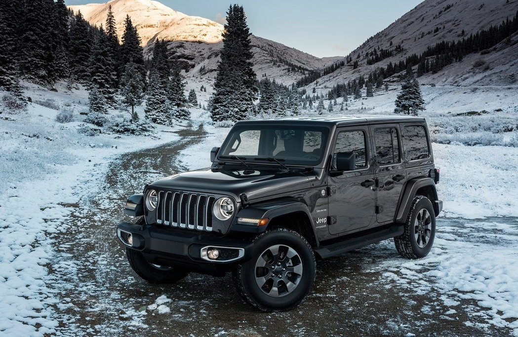 Jeep Wrangler Unlimited。 摘自Jeep