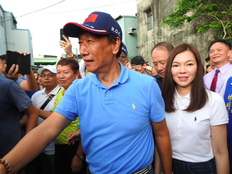鴻海創辦人郭台銘是否脫黨參選受關注。 圖/聯合報系資料照片