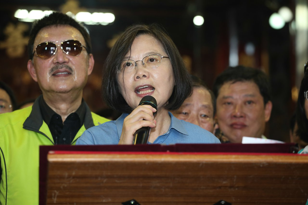 蔡英文總統近來頻頻宣示要團結「台灣派、中華民國派」。 圖/聯合報系資料照片