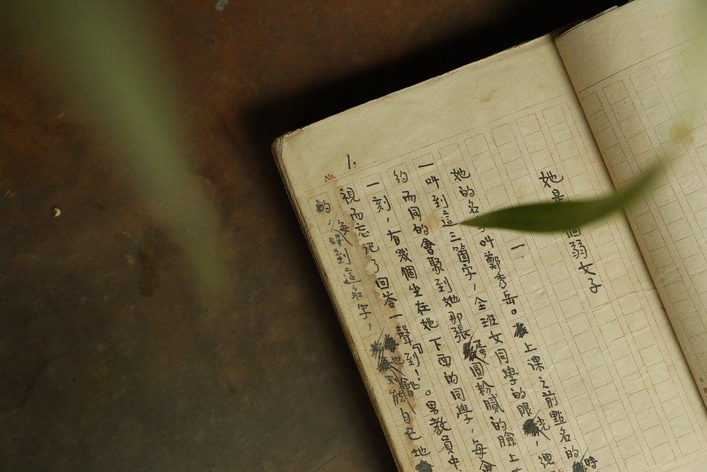 Lot 2403 郁達夫唯一存世完整著作手稿名作中篇小說《她是一個弱女子》完整創...