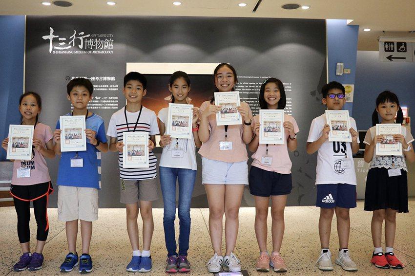 十三行博物館「時光旅行-當過去遇見未來」由平均年齡僅10歲的策展團隊操刀。 十三...