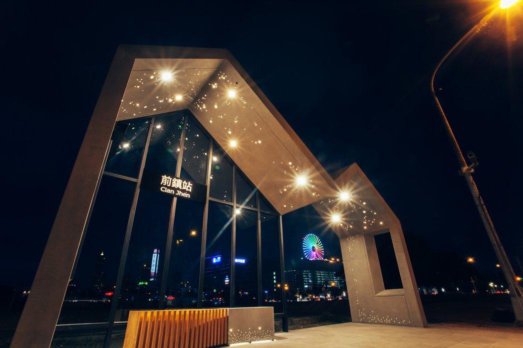 夜景氣氛溫馨,相當漂亮。 瑞儀基金會/提供