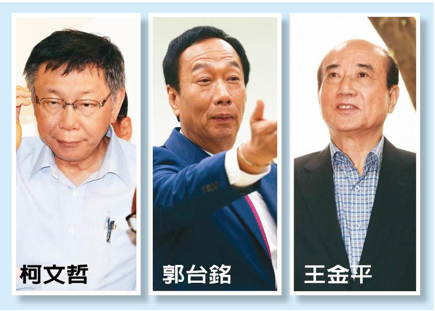 柯郭王三人何時會面,據了解,預估這兩周就會登場。 記者胡經周、林伯東/攝影、本報...