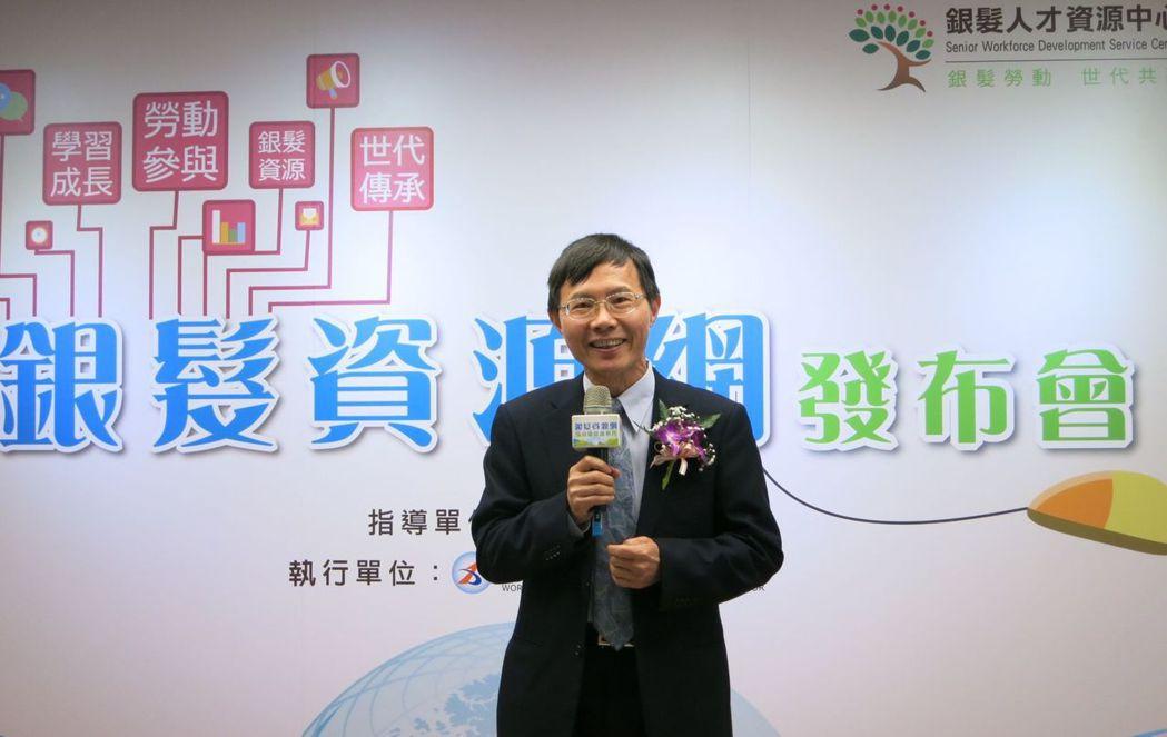 國立中正大學副校長、高齡跨域創新研究中心主任郝鳳鳴。李福忠/攝影