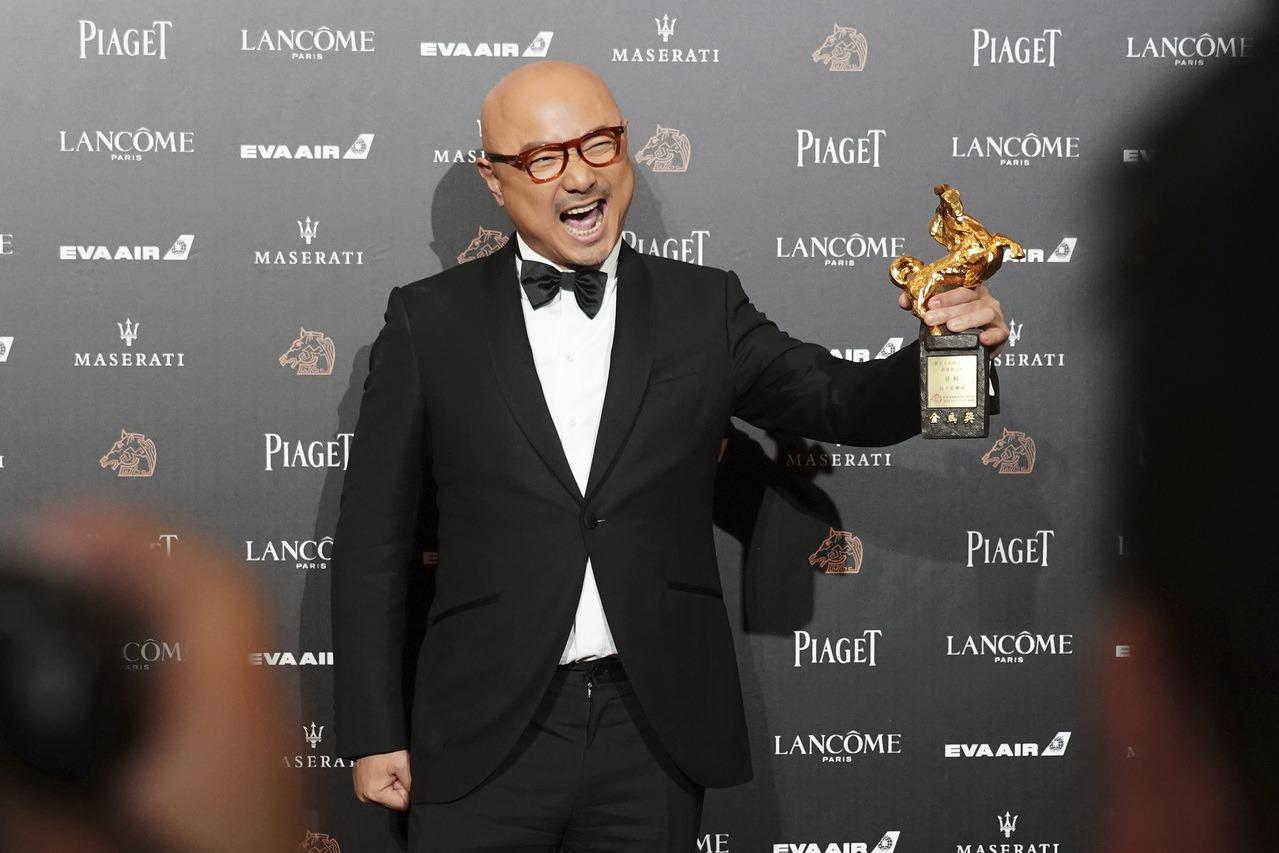 2018年,中國演員徐崢獲頒第55屆金馬獎最佳男主角,部分中國電影人在同年頒獎典...