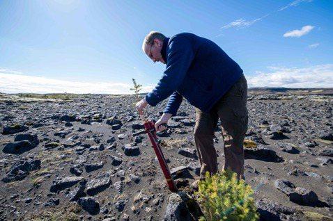 現代農法常使用耕耘機翻土,而耙地其實會釋放原本深埋在泥土裡的碳原子。 圖/法新社