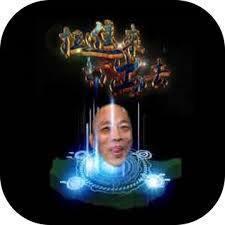 《拉進來打出去之發大財》是以韓國瑜為主軸打造的彈珠台遊戲。 圖/取自拉進來打出去...