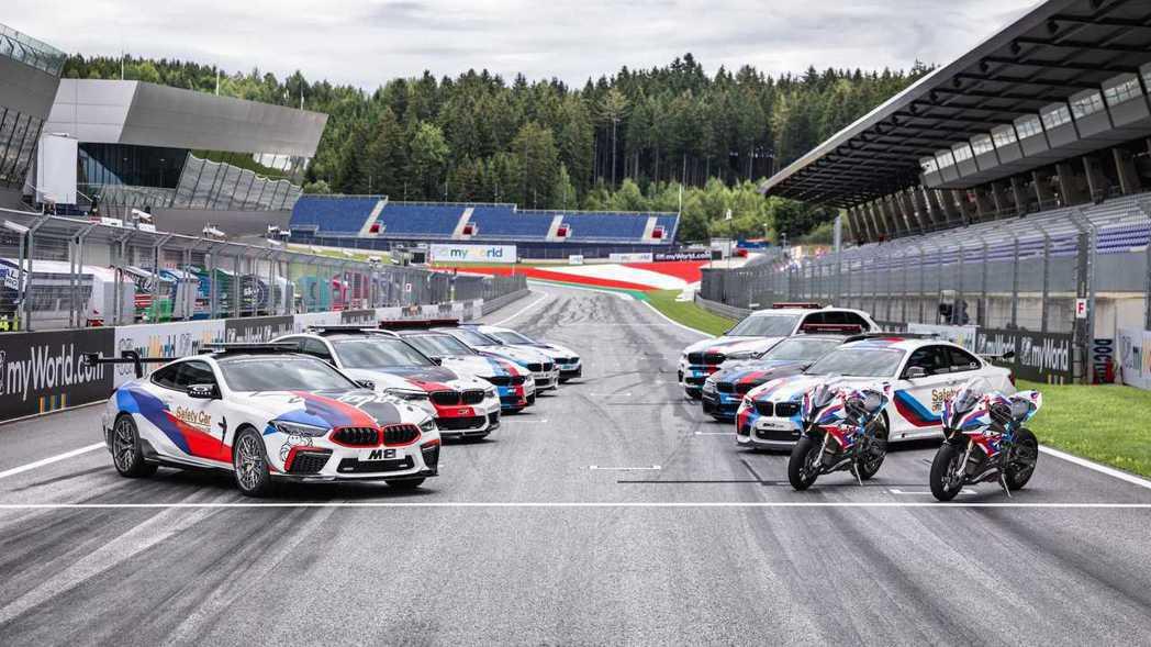 BMW M8加入今年Moto GP賽事的安全車輛陣容。 摘自BMW