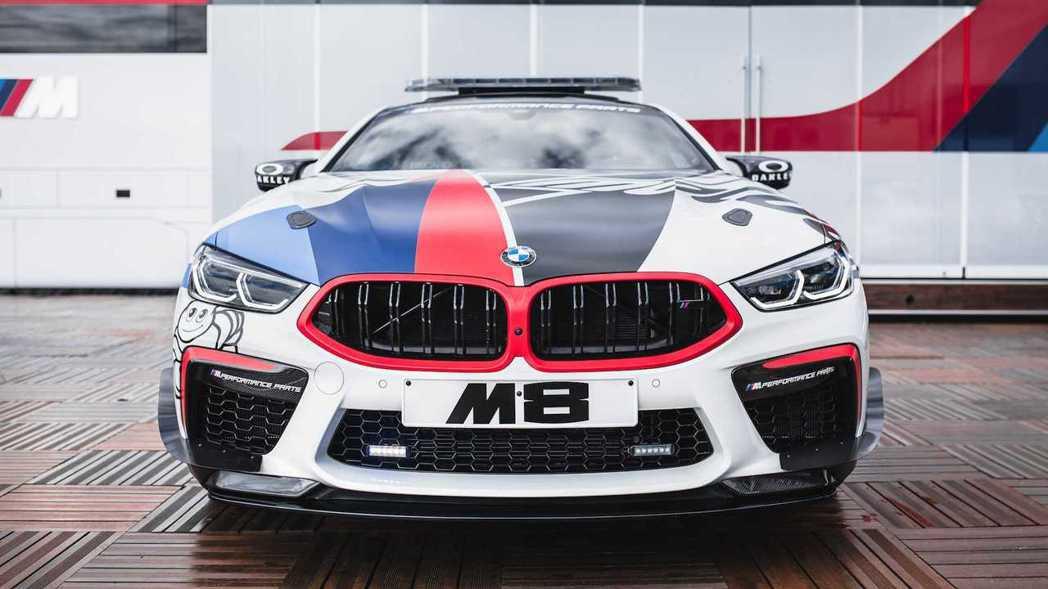 BMW M8 MotoGP™ Safety Car。 摘自BMW