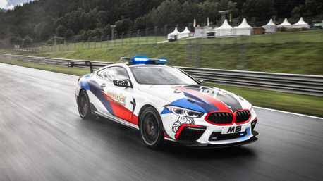 Moto GP最新一代安全車 BMW M8 Safety Car強勢領跑!
