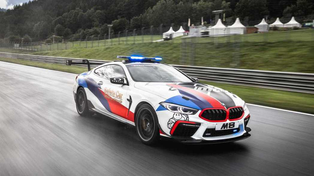 BMW M8 MotoGP™ Safety Car。 摘自BMW