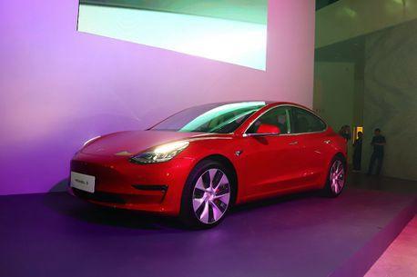 全球最熱賣的平價電動車來了!Tesla Model 3正式在台發表
