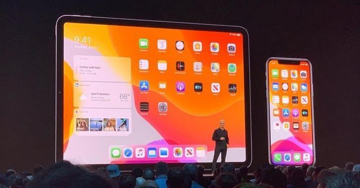 WWDC推出 iPadO S作業系統。Photo Credit:INSIDE/A...