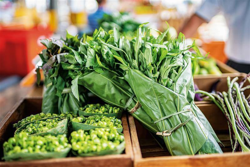 傳統農業社會所使用的包材,因應減塑再度重現。