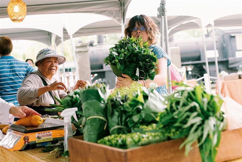 農民市集落實生產到銷售的永續之道。