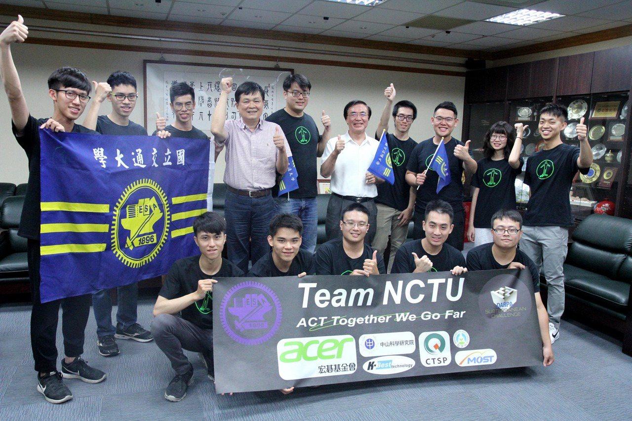 國立交通大學Team NCTU團隊前往美國匹茲堡,參加地下機器人挑戰賽(DARP...