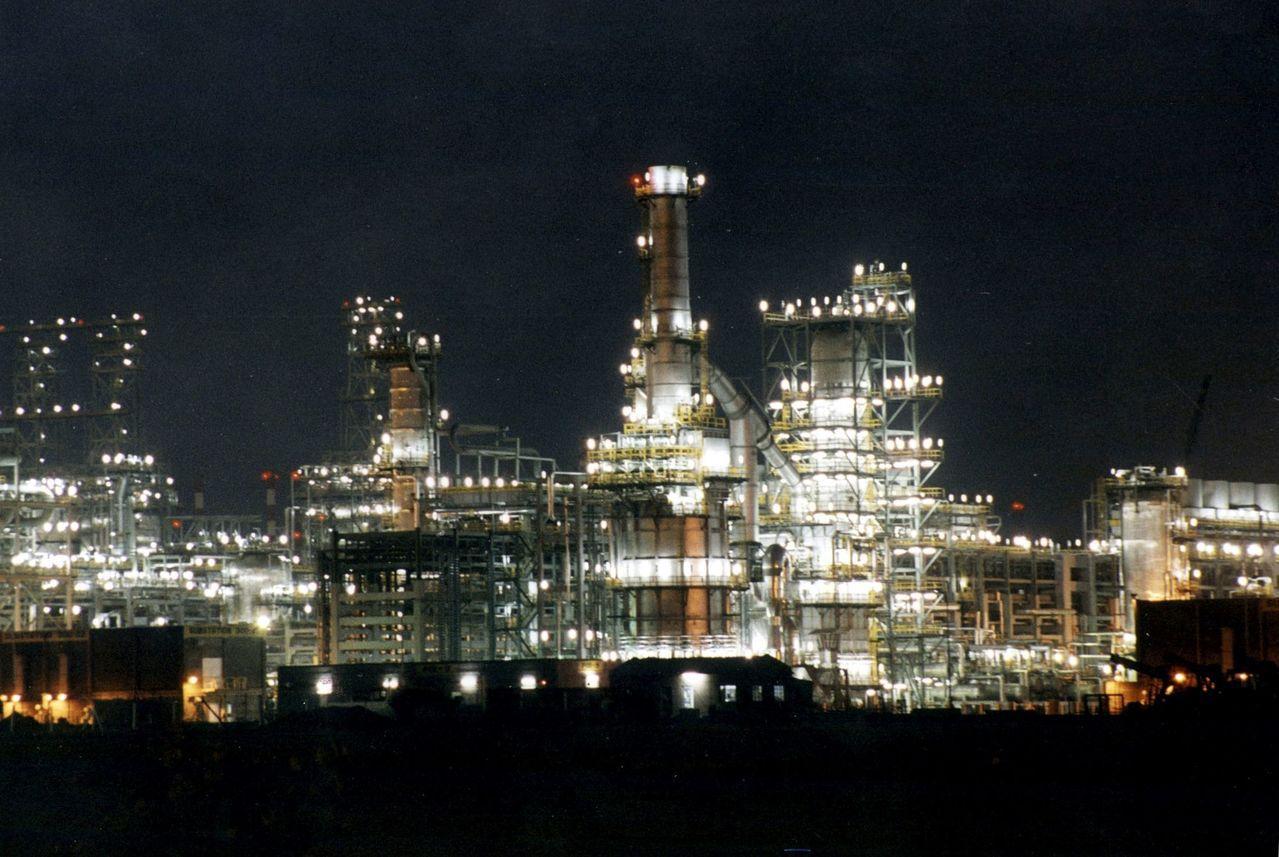信實工業位於Jamnagar的煉油廠。路透