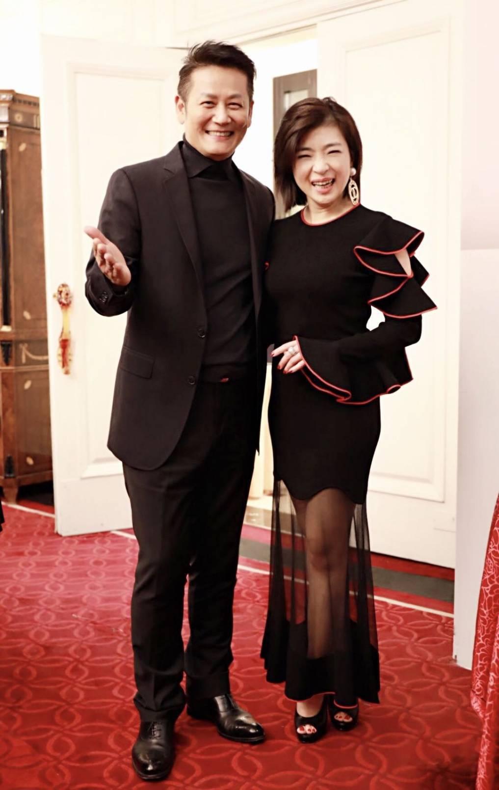 徐乃麟(左)與何修榕(右)是多年好友。圖/中華全球城市選拔協會提供