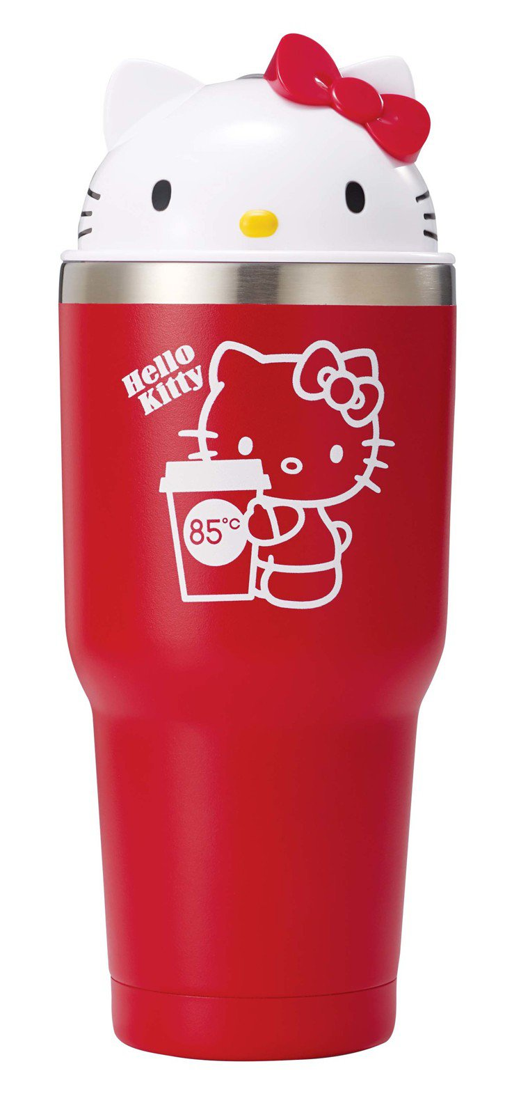 Hello Kitty保冰杯。圖/85ºC提供