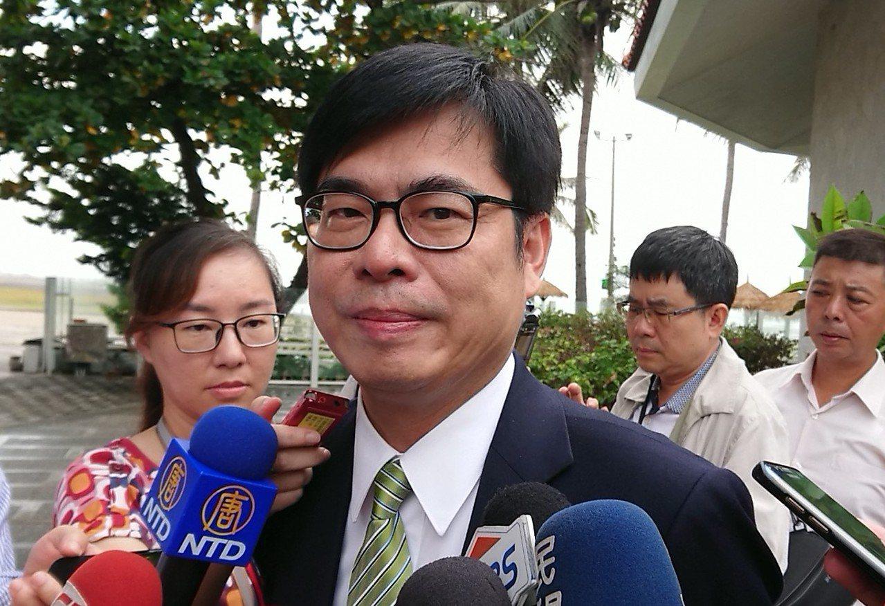 行政院副院長陳其邁。 記者蔡容喬/攝影