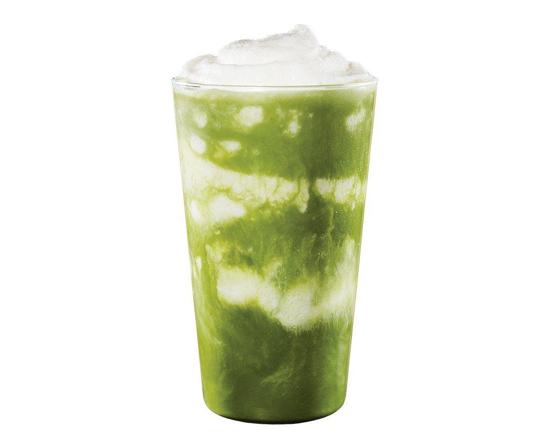 醇濃抹茶奶霜星冰樂,售價145元。圖/星巴克提供