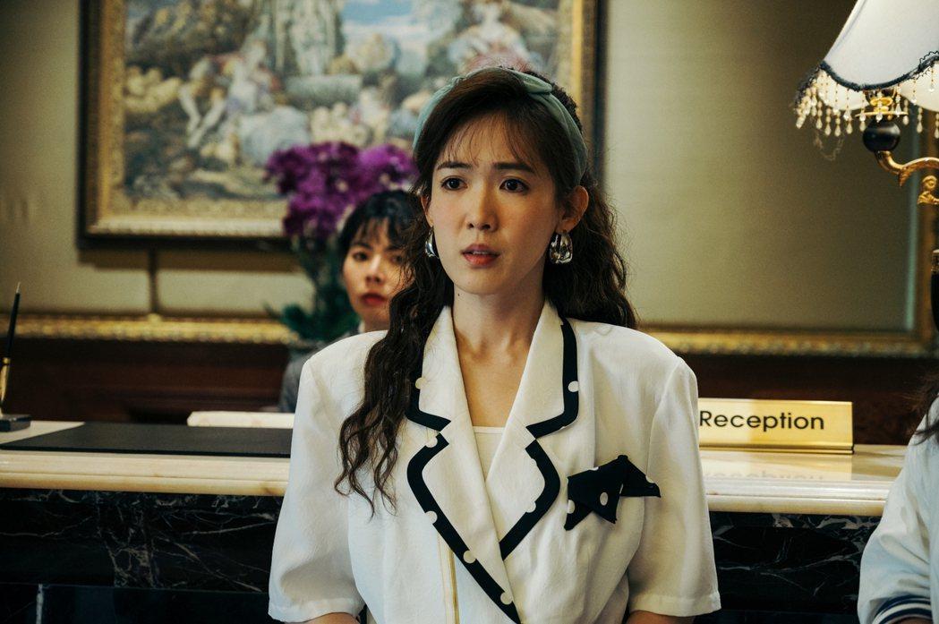 孫可芳在「用九柑仔店」中飾演丁國琳的年輕時期。圖/三立提供