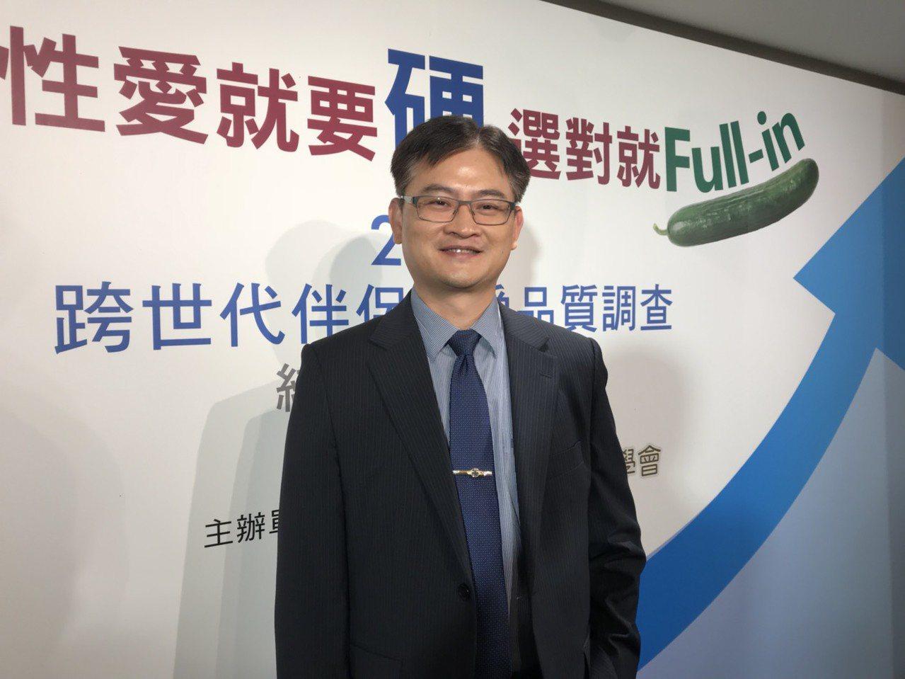 長庚醫院男性學及婦女泌尿科主任陳煜表示,近年門診觀察,勃起功能障礙的年輕人有增加...