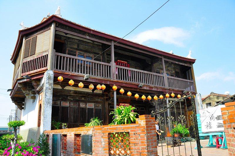 鹽水區著名的八角樓。圖/台南市政府觀光旅遊局提供