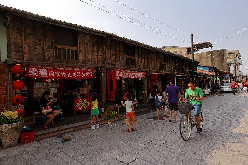 後壁菁寮老街。圖/台南市政府觀光旅遊局提供