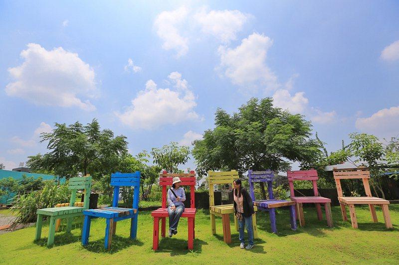 後壁區優雅農夫藝文廣場。圖/台南市政府觀光旅遊局提供
