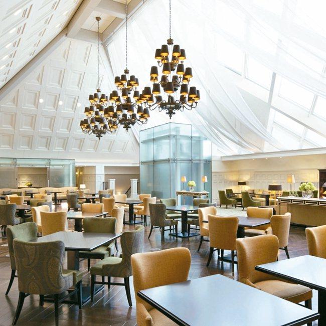 東京車站飯店內部裝潢具歐式風格。 圖/有行旅提供