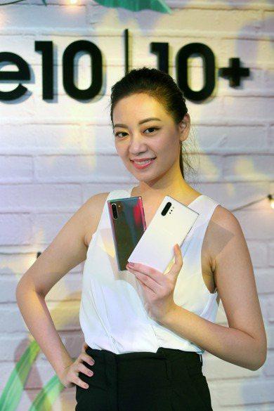 三星Note 10在台灣舉行上市發表會,公布新機規格和售價。記者邱德祥/攝影