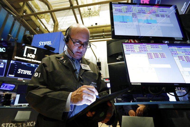 美國股市開盤。 美聯社