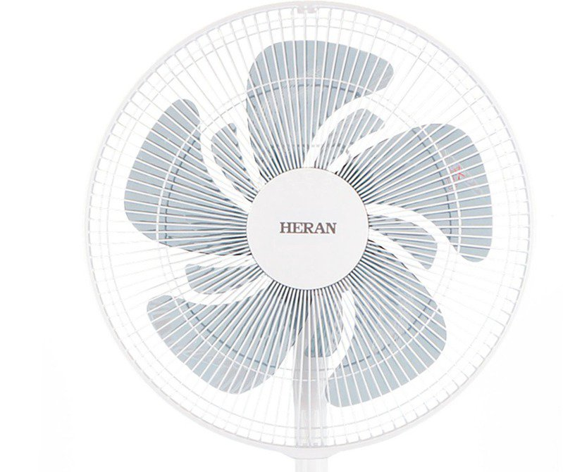 禾聯碩導入十片DC風扇葉片,降低風壓感達到更綿密的吹風感覺。 圖/禾聯碩提供