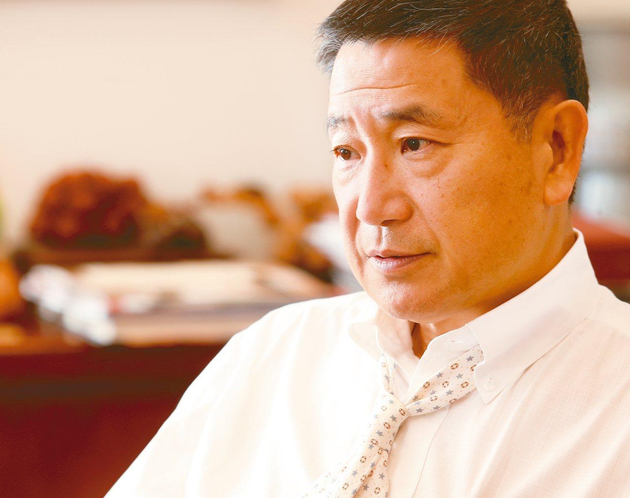 台泥董事長張安平。 圖/聯合報系資料照片