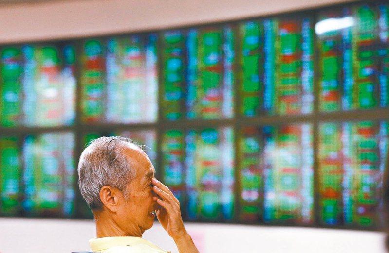 台股今開盤跌52.98點。 記者林澔一/攝影
