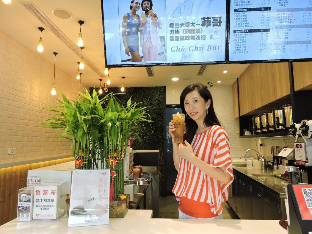 「新醋感」創辦人金玉珮希望讓更多人享受飲品也能兼顧健康。 新醋感/提供