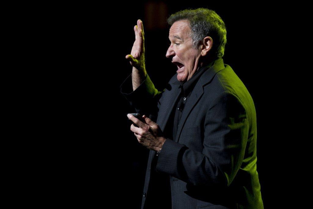 羅賓・威廉斯(Robin Williams)對台灣觀眾來說相對溫和。 圖/美聯社