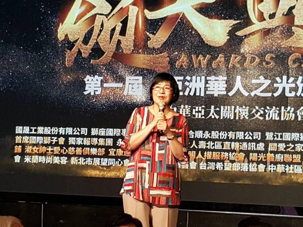 新北市社會局局長張錦麗。